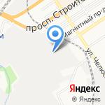 АгроСнаб на карте Барнаула