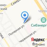 Алтайский государственный университет на карте Барнаула