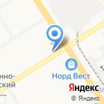 Дежурный на карте Барнаула