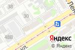 Схема проезда до компании Октябрьский в Барнауле