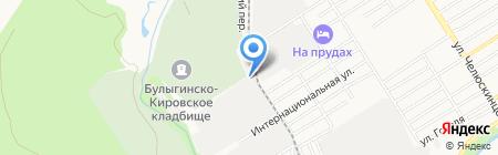 Союз на карте Барнаула