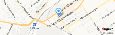Freak Fabrique на карте Барнаула