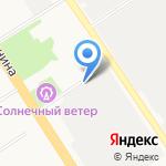 Обвес Алтай на карте Барнаула