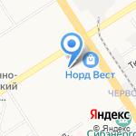 Парикмахер-Сервис на карте Барнаула