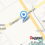 СИНЕРГИЯ ART-studio на карте Барнаула