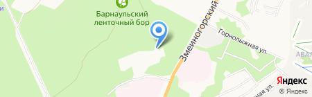 АБК на карте Барнаула