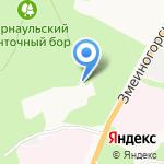 Алтай-Бетонсервис на карте Барнаула