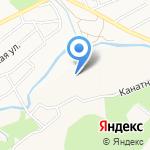 А-Авто на карте Барнаула