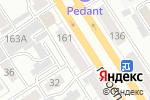 Схема проезда до компании Natali в Барнауле