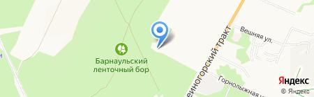 Алтайский краевой наркологический диспансер на карте Барнаула