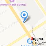 Модулус на карте Барнаула