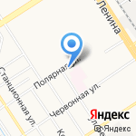 АСТ на карте Барнаула