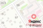 Схема проезда до компании БИП в Барнауле