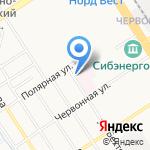 AutoREM на карте Барнаула