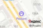 Схема проезда до компании Модулус в Барнауле