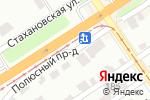 Схема проезда до компании Франция & Корея Shop в Барнауле