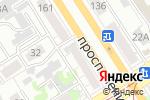 Схема проезда до компании Нотариус Комаров В.В. в Барнауле