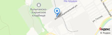 ЛАКАСА-ТЭКС на карте Барнаула
