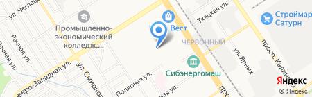 №1-Ваша газета на Алтае на карте Барнаула