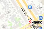 Схема проезда до компании Банкомат, Банк Хоум Кредит в Барнауле
