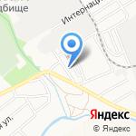 Устремление на карте Барнаула