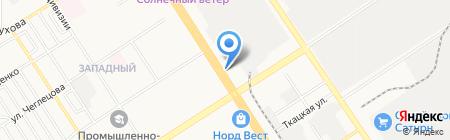 Пивное раздолье на карте Барнаула