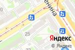 Схема проезда до компании Пушкинская в Барнауле