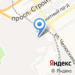 Продовольственная компания Алтая на карте Барнаула