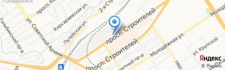 НОТ DOG на карте Барнаула