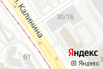 Схема проезда до компании Планета Электрика в Барнауле