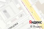 Схема проезда до компании Квест22.рф в Барнауле