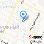 Хорошая территория на карте Барнаула