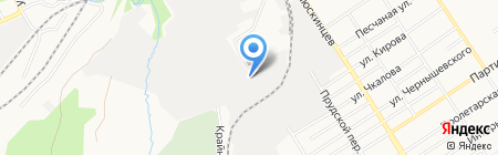 Первый центр сварки на карте Барнаула