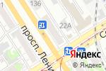 Схема проезда до компании Belwest в Барнауле
