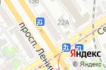 Схема проезда до компании Школьная мода в Барнауле
