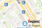 Схема проезда до компании Мегаполис в Барнауле