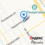 Базис на карте Барнаула