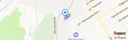 Компьютерная клиника №221 на карте Барнаула