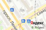 Схема проезда до компании Огородник в Барнауле