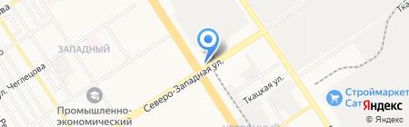 Магазин для садоводов на карте Барнаула