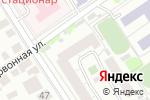 Схема проезда до компании Базис в Барнауле