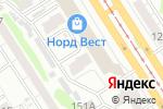 Схема проезда до компании Мегапульт.рф в Барнауле