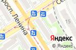 Схема проезда до компании Дизайн22.рф в Барнауле