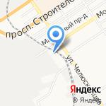 АВТОМОЙCAR на карте Барнаула