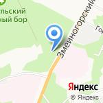 Комплексный центр социального обслуживания населения на карте Барнаула