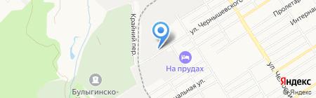 Млечный путь на карте Барнаула