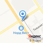 Гарнизонный на карте Барнаула