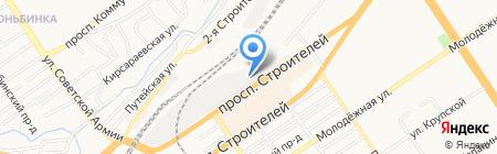Бош Термотехника на карте Барнаула