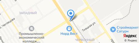 Statica underwear на карте Барнаула
