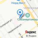 Барнаульская классическая школа на карте Барнаула